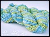 ~Blue Lagoon~ Soyeux BFL Aran 8 ounces