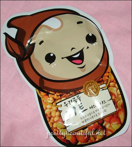 Baviphat Woori Gokmul Nut Sheet Mask