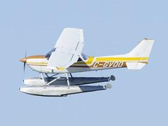 C-GVQO Cessna R172K @ Cubtoberfest 2010 St-Mathias CSP5 aéroport airport - CSV9 hydrobase DSC_8352 (djipibi) Tags: airport rendezvous flyin rva 2010 richelieu aéroport aérien stmathias hydrobase csp5 cubtoberfest csv9
