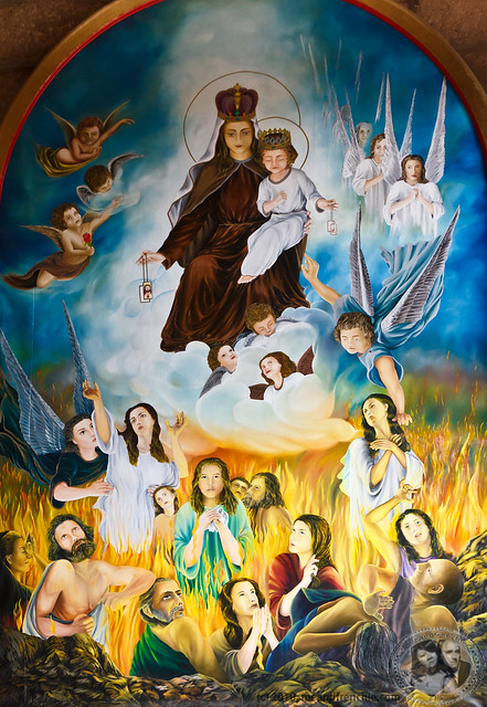 Painting Inside Santa Cruz Cathedral