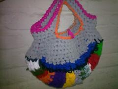 reciclando con estilo... (Ptits Dlcs ) Tags: reciclado hechoamano fatbag