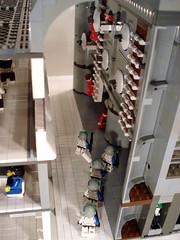 Clone Cadets Quarters pic6 (ACPin) Tags: toys lego clones cadets dioramas moc kamino acpin