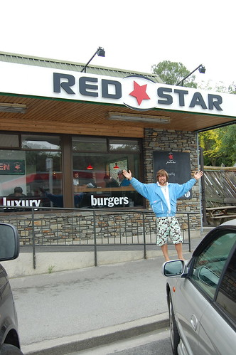 Me outside Red star