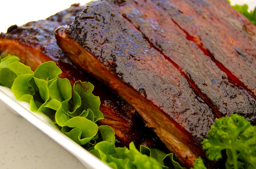 ribs close up