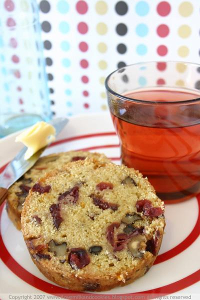Cranberry Walnut Loaf