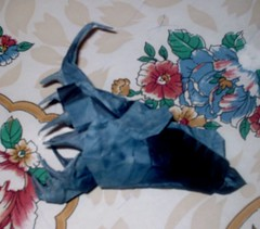 Black Devil AnglerFish (PhillipWest) Tags: origami paperfolding papiroflexia