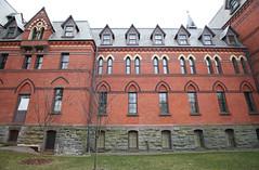Sage Hall, a portion of north facade, IMG_4003x4rc (xinmincat) Tags: school hall university johnson sage business cornell
