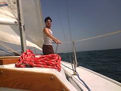 Captain Scoobie Sailing The Sea
