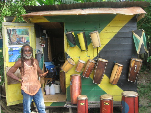 Drum Shop and Lloyd, the Drum Maker