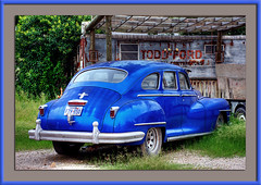 Old Blue Chrysler
