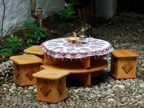 Old Bosnian coffee table