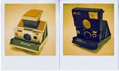 SX-70  & SLR 680SE (..Stimpson) Tags: camera summer arizona nude fun polaroid sx70 lofi mint noflash today instantcamera bitchin 600film 779film slr680se