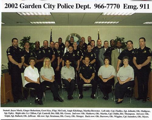 2002 garden city police department - Garden City Police Department
