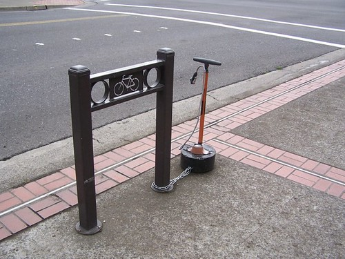 bike rack with pump vcr wa