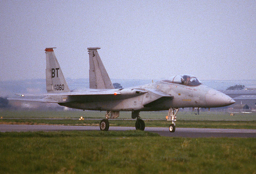 F-15C 79-0060 BT rd 36TFW St Athan 2 130986