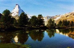 Matterhorn Reflection - by swisscan