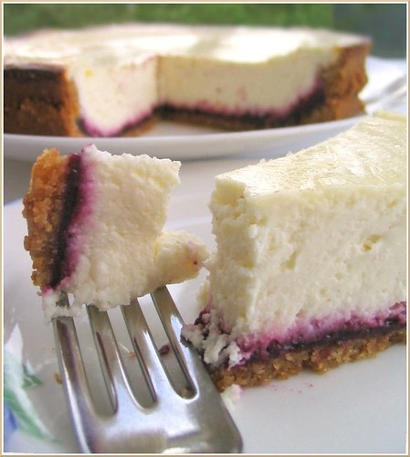 Hidden Berry Cheesecake
