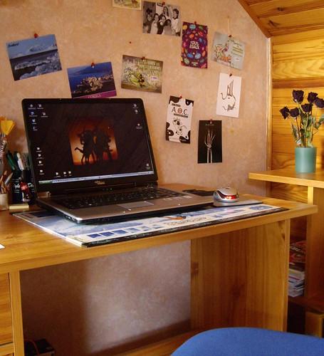 Je blogue dans ma chambre