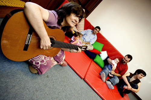 Music Therapy for children by José Goulão, on Flickr