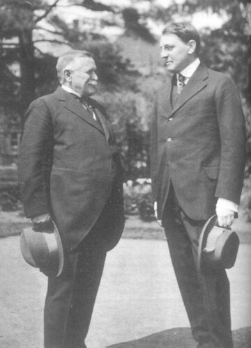 James Monroe Taylor (left) with Henry Noble MacCracken
