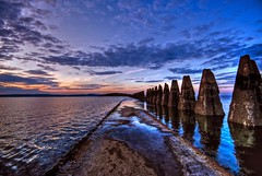 Cramond Causeway - The end of the road!