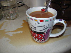 Earthquake! (zJMac) Tags: ontario canada earthquake mess ottawa spoon damage teacup spill minor zjmac