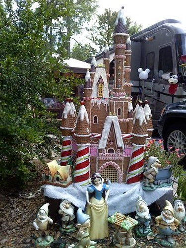Gingerbread Castle at Fort Wilderness site!