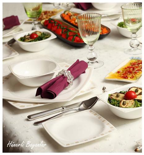 Akşam Yemeği Davet Sofrası (Dumanlı Ailesi)-7