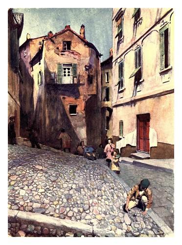 019- Casas antiguas en Bastia-Corsica-1909-Edwin A. Norbury