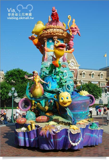 【香港迪士尼】跟著via玩香港(3)~迪士尼卡通人物歡樂巡遊34