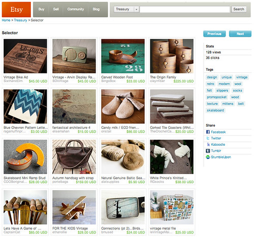 Etsy feature 10/31/10