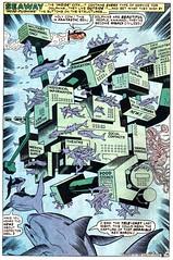Dolphin city from Kamandi by Jack Kirby (mordicaicaeli) Tags: comics kirby dolphins jackkirby kamandi
