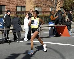 Defending Champion Derartu Tulu, Ethiopia, 2010 New York City Marathon (jag9889) Tags: city nyc ny newyork harlem manhattan marathon champion winner runners borough olympic ethiopia ing 2009 2010 newyorkcitymarathon tulu 10000meters y2010 derartutulu derartu jag9889 2010newyorkcitymarathon