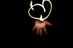 heart light - [EXPLORED] (RiccardoDelfanti) Tags: light lightpainting heart  riccardodelfanti riccardodelfanti