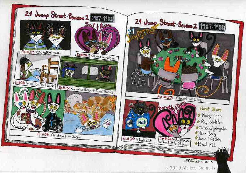 Johnny Kitties: Celebrating Johnny Depp--21 Jump Street, Season 2 (1987-1988) [October 22, 2010]