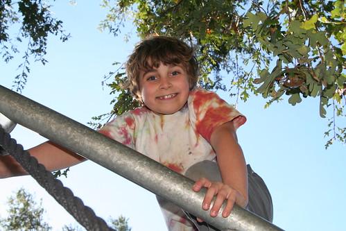 Lucas Climbing