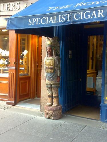 Em Edimburgo