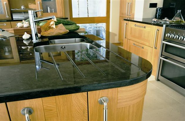 Granite Brown Antique Kitchen