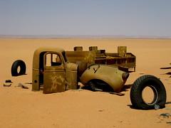 WWII truck (helen_romberg) Tags: expedition truck bedford desert egypt worldwar2 westerndesert gilfkebir