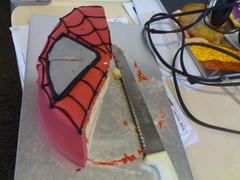Spiderman Cake (elstob) Tags: birthday cake spiderman 25th