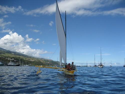 sailing pirogue