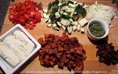 Ingredienten Pastaschotel uit de oven