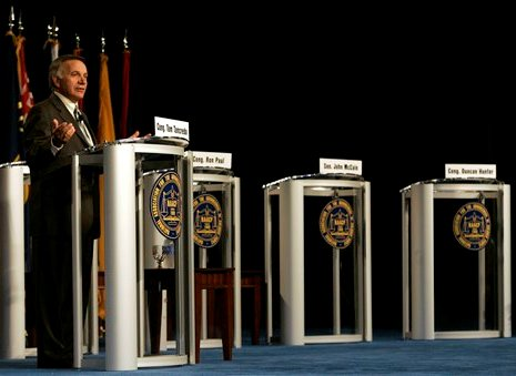 Brainmunchie.com - ONLY ONE REPUBLICAN SHOWS UP TO NAACP DEBATE