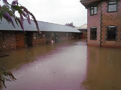Flood, Stoke Wharf