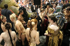 More Leias (no_onions) Tags: starwars princessleia slave sdcc sandiegocomiccon2007