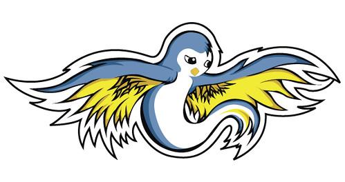 free swallow stencil