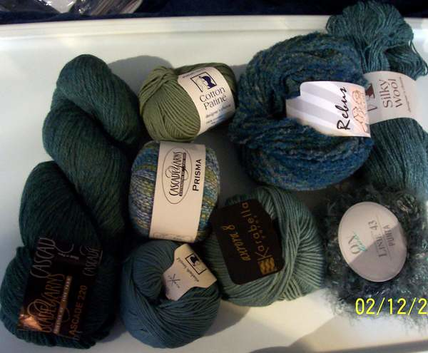 Yarn Pack - OCEAN COLORS (photo 1 of 2) by esthermorejon