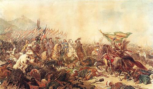 Juliusz Kossak Sobieski pod Wiedniem