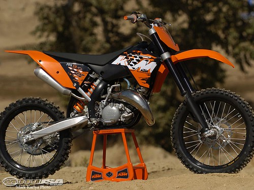 08 KTM 125 SX,motorcycle, sport motorcycle, classic motorcycle, motorcycle accesorys