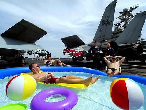 Fotos curiosas y trucadas de militares